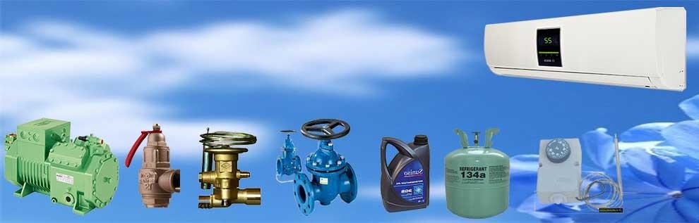 انواع لوکر گازی و اسپلیت،انواع کمپرسور، و لوازم کنترلی